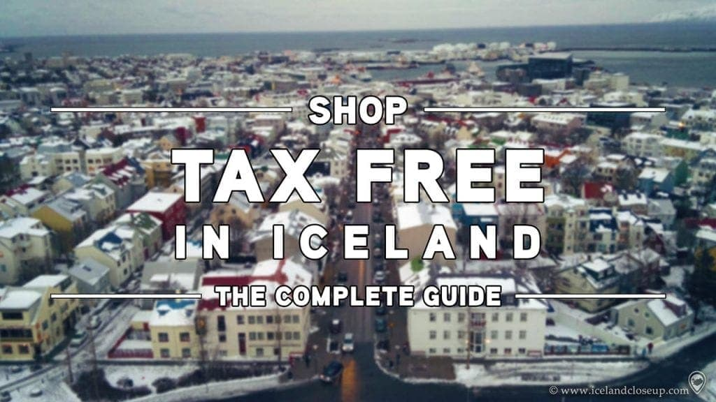Shop Tax Free in Iceland