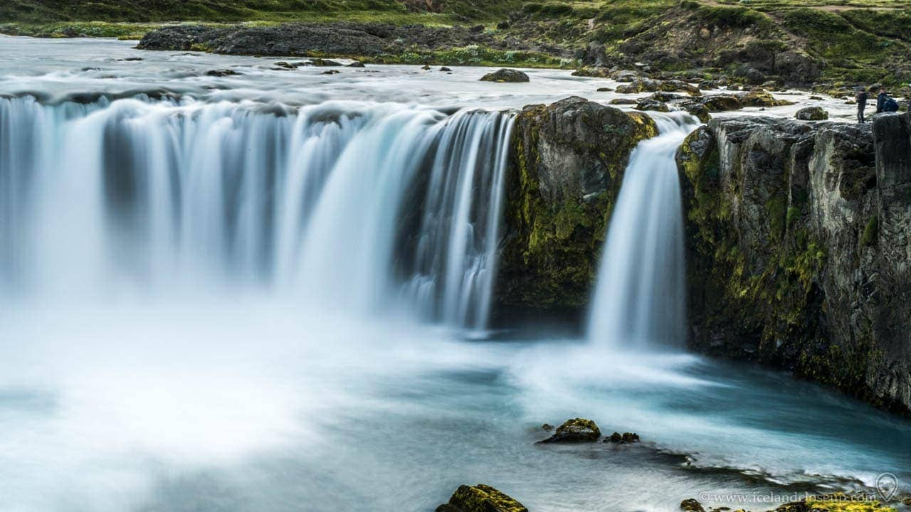 Icelandcloseup.com Godafoss Waterfall Iceland