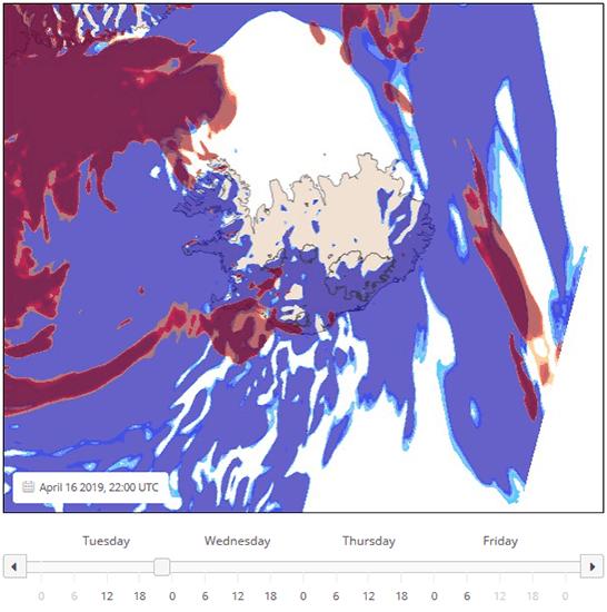 Iceland Aurora Forecast