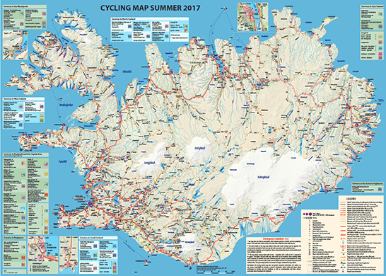 Cycling Map summer 2017