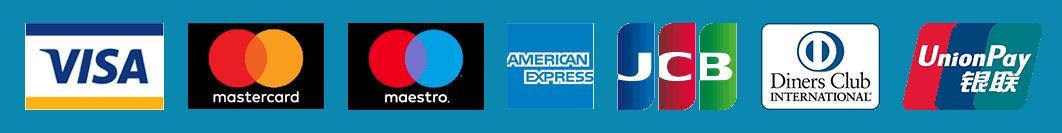 Credit Card Acceptance Mark Logos