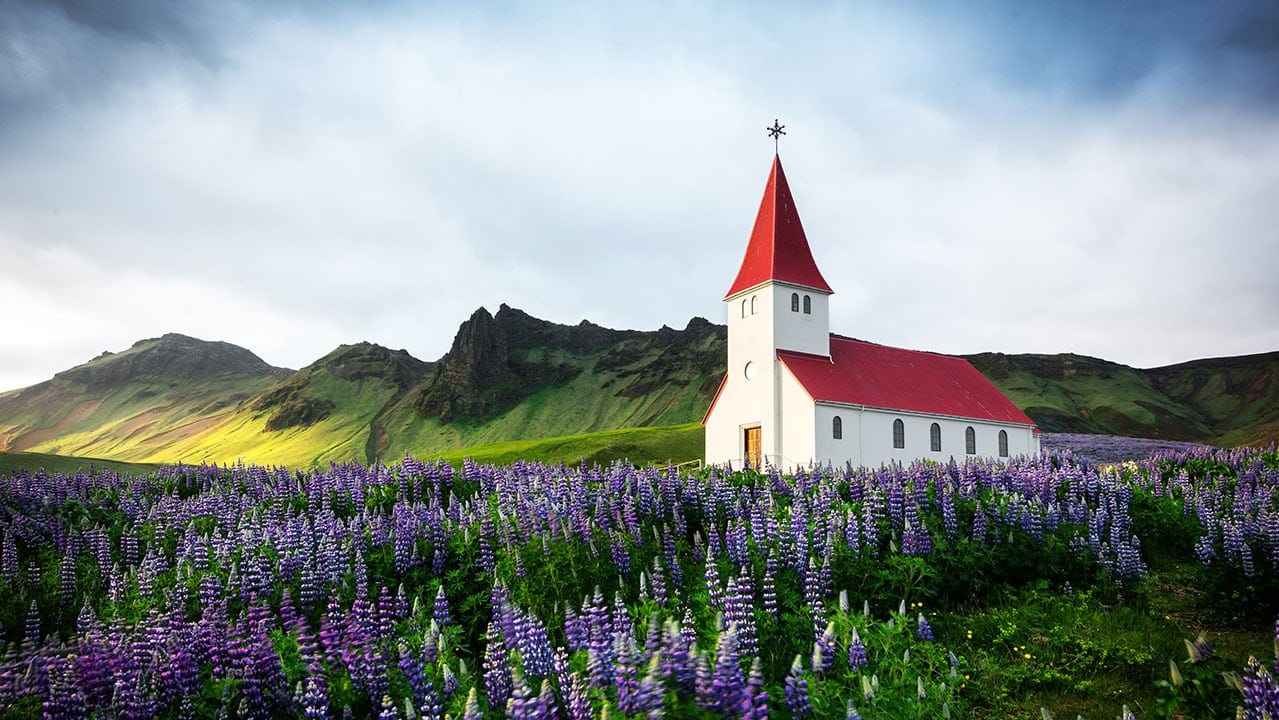 Vik i Myrdal Iceland village