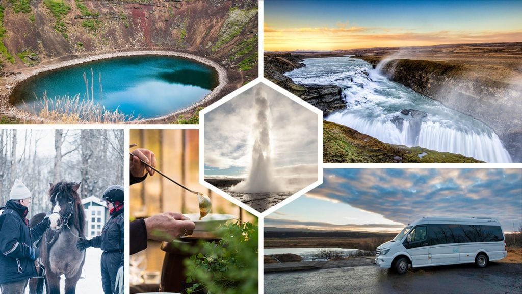 Premium Golden Circle Iceland Tour