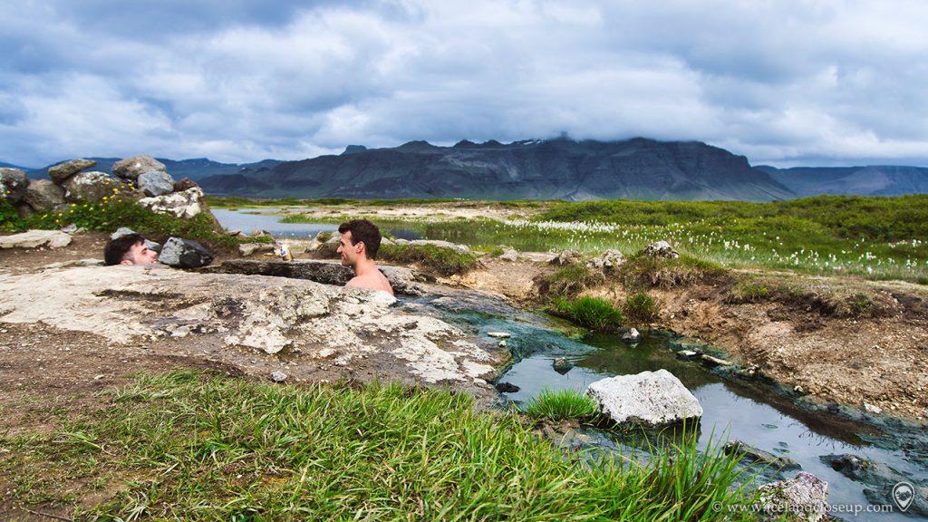 Landbrotalaug in Iceland