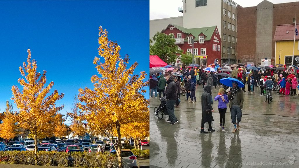 Iceland Pros and cons Fall