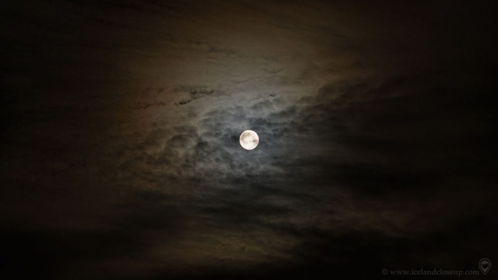 Iceland Moon