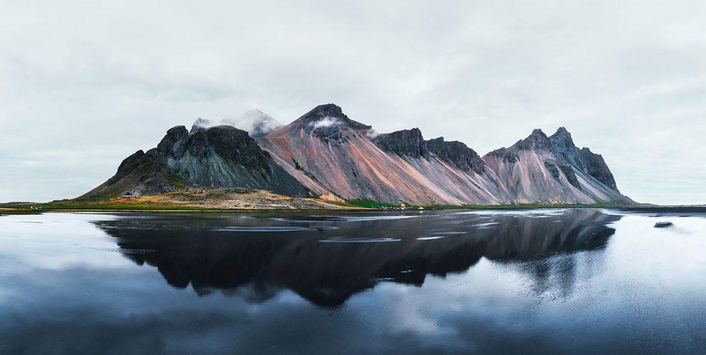 iceland, Stokksnes, lake