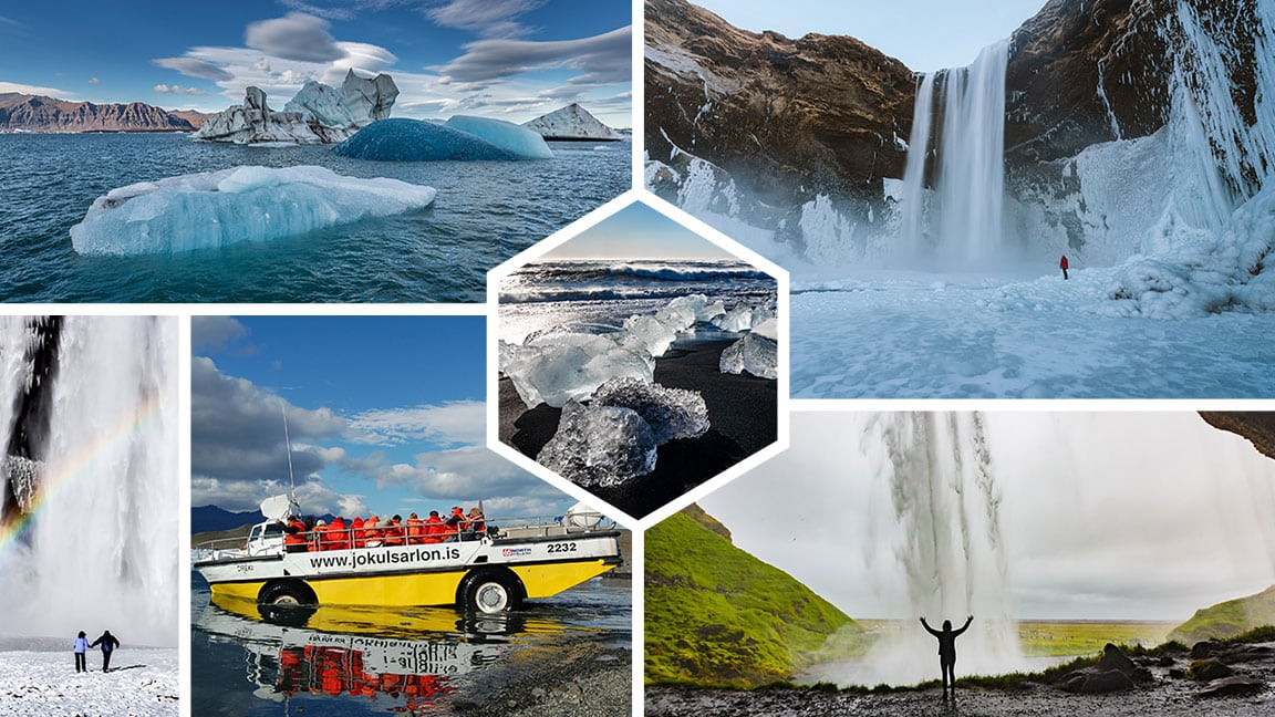 South Coast & Glacier Lagoon Tour