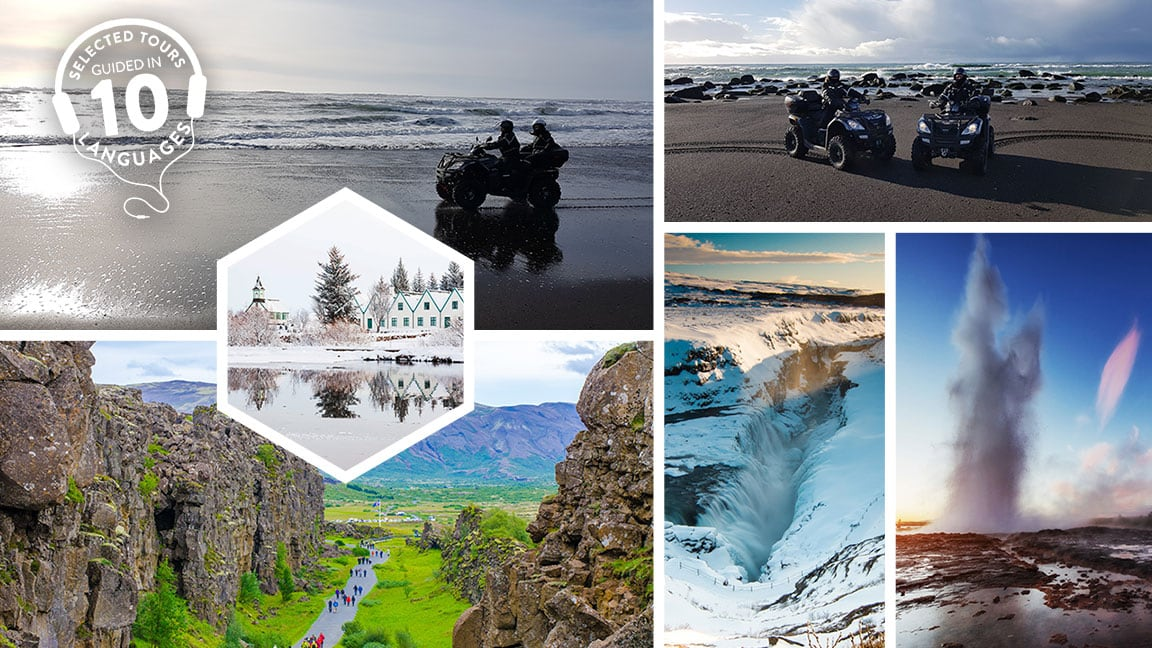 Golden Circle and Black Beach ATV Tour