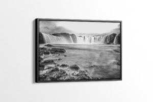Vintage Waterfall of the Gods Canvas Print