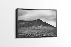 Triple-Triangle Mountain Peak Canvas Print