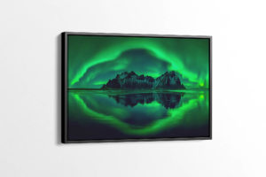 Astonishing Northern Lights Show Canvas Print